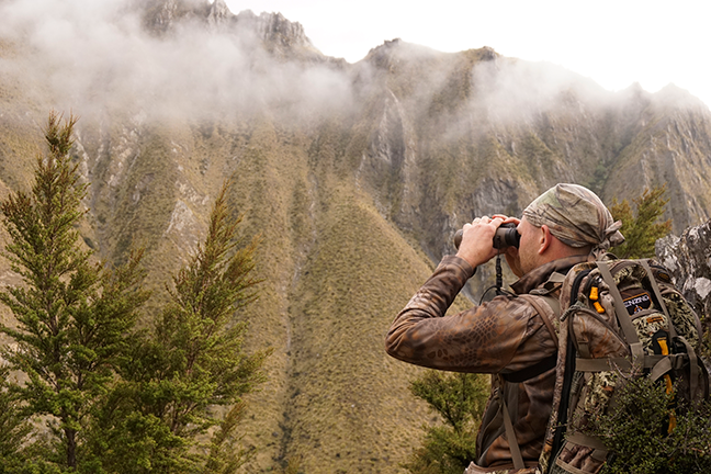 Glassing with Bushnell Forge binos