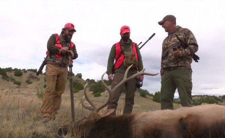 Fred Eichler guides the Petersen's Hunting team across southern Colorado's high plains in search of