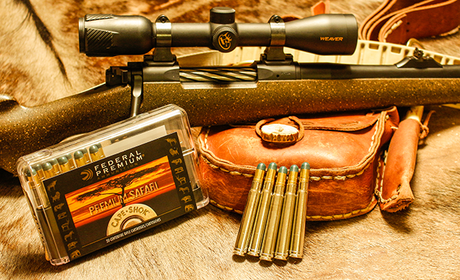 Big Bore Hunting Cartridges for the Biggest Wild Game