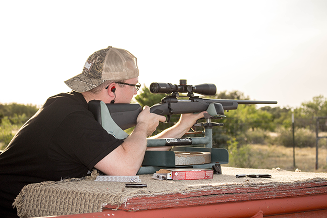 Shooting with Bushnell Nitro