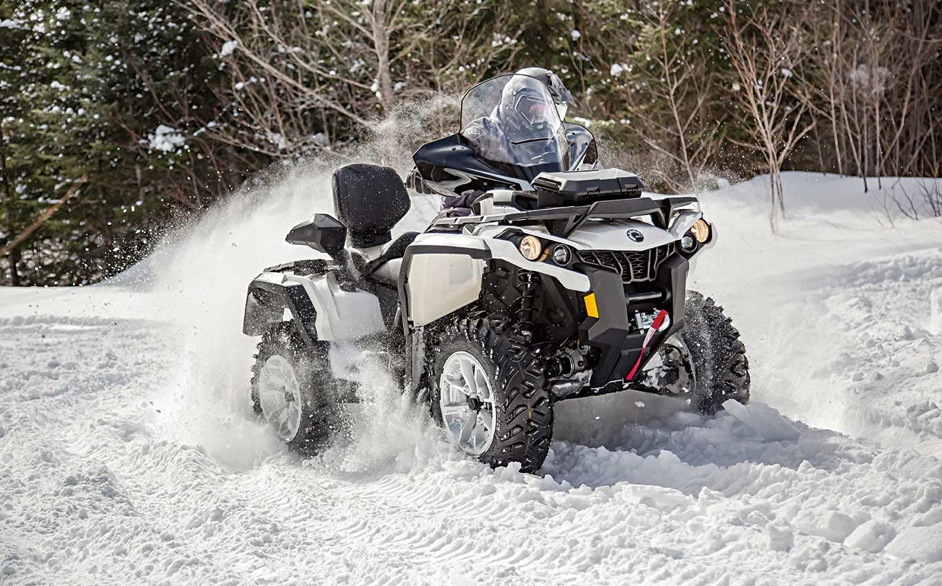Can-Am Outlander: New ATVs for Every Season