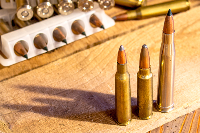 Classic rifle cartridges