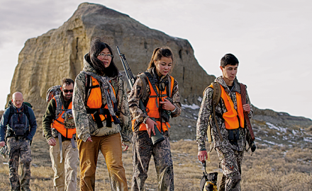 We've lost 2.2 million hunters since 2011. Here's how to help save hunting.  Photo Credit: Matt