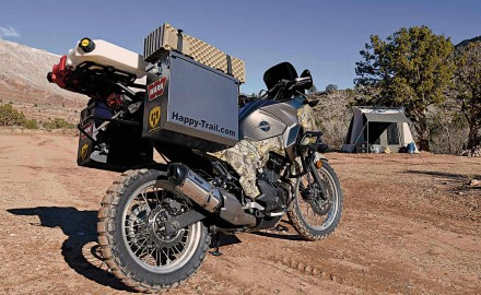 Outfitting a Kawasaki Versys-X 300 for off-road journeysFollow these tips for outfitting a Kawasaki Versys-X 300 for off-road journeys!