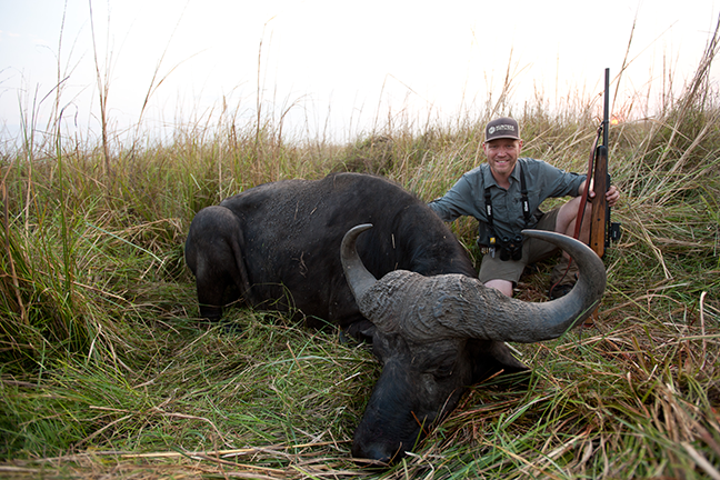 Man on the Moon: Namibia Cape Buffalo Hunt with Nick Hoffman