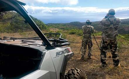 Hunting King Kamehameha's deer in a little slice of paradise