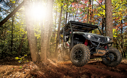 The newest offerings for off-road enthusiasts When it comes to motorized transportation in wild