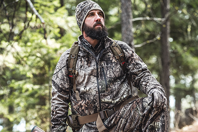 Hunter in Huntworth camo