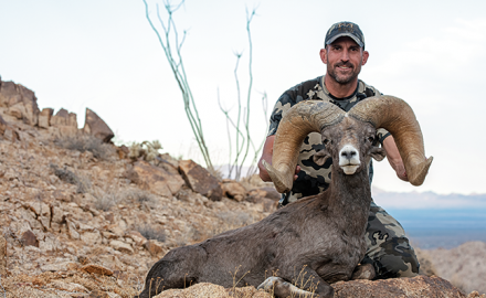 Get the full story behind the late KUIU founder's record-book California ram.
