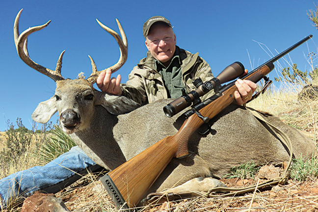 Craig Boddington with Coues Deer