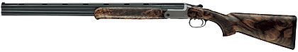 This German-made shotgun's action is very shallow, giving it a sleek appearance that aligns the barrels with the shoulder, lessening the recoil