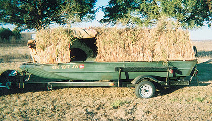 Richardson's Removable Boat/Field Blind