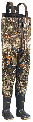 Cabela's Super Duty Zipper Waders are ultra-tough and leak proof.