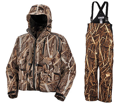 Columbia Sportswear offers comfort and function to hunters in the Omni-Heat Water Widgeon Parka.