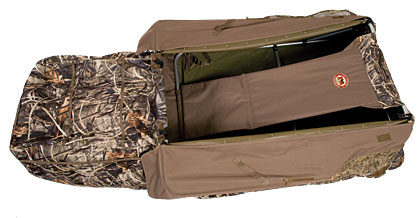 Final Approach Eliminator Cargo Blind aims to keep hunters mobile.