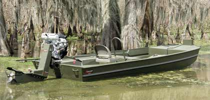 By Vince Meyer    Go Devil Surface Drive boat and motor combo.For 2008 Go-Devil