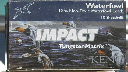 By L.P. Brezny    Kent's Tungsten Matrix non-toxic shotshells deliver performance