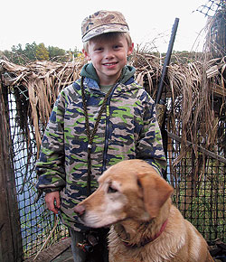 The Kid in the Duck Blind