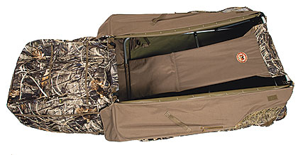 By Ryan Hamre    FA Brand's Eliminator Cargo Blind is a full-featured ground blind