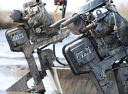 Gator-Tail.com sells outboard motors, boats and hunting blinds