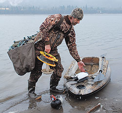 From mallards to sea ducks, the Evergreen State is a waterfowl hunter's playground