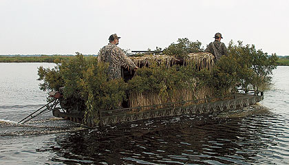 Top Boat Blinds For Waterfowl Hunters