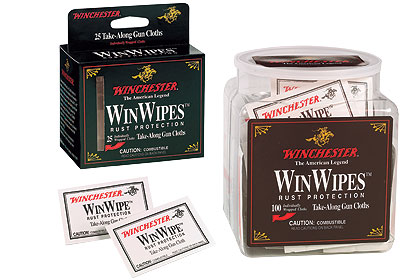 By Bob Humphrey    Convenient WinWipe gun cloths leave a lasting, protective,