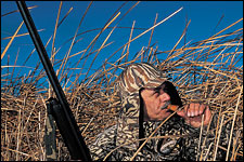 Scouting is the key to waterfowling success.