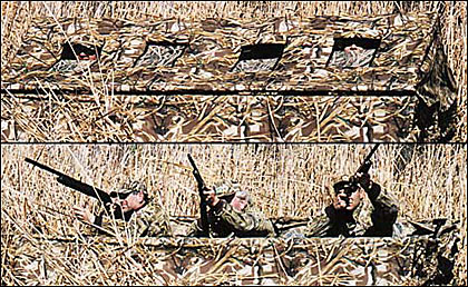 By Guillermo Gastelo    The new IWS Float-N-Tote blind is one of the better hunting