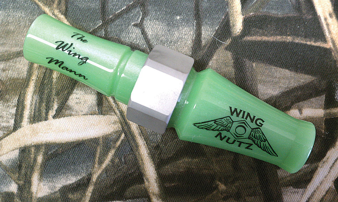 Wing Nutz Calls offers the Wing Mann short-reed Canada goose calls, developed by champion caller