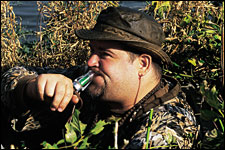 I once had a turkey guide claim he knew how the birds would act, and he made the same mistake on