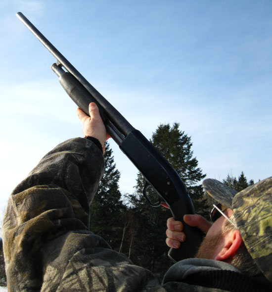 A Real Duck Gun