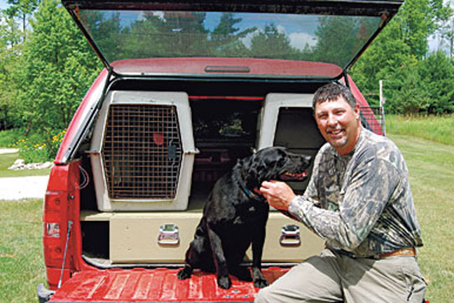 Traveling with hunting dogs