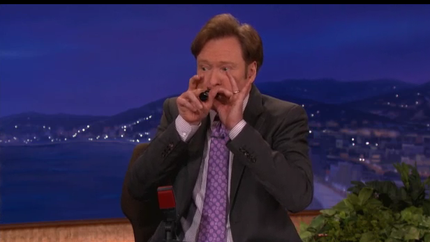 Conan gets in on some duck calling action