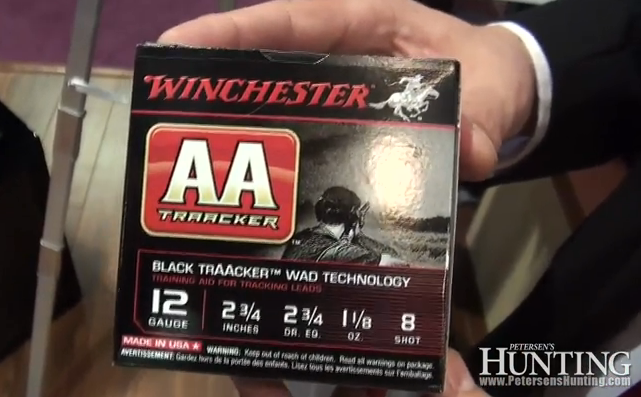 Winchester was at the 2013 SHOT Show in Las Vegas to introduce its new Winchester AA Tracker