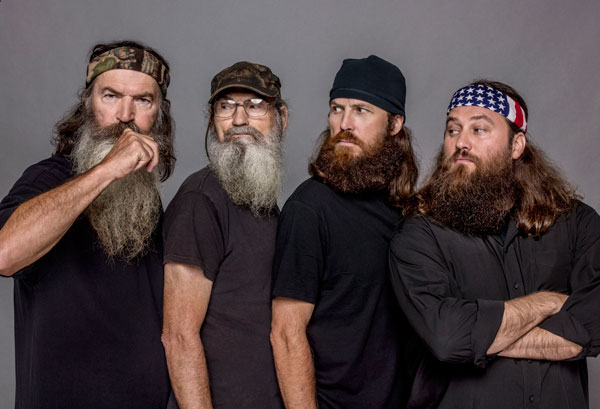 The boys at Duck Dynasty are about to get a whole new arsenal.  According to a press release issued