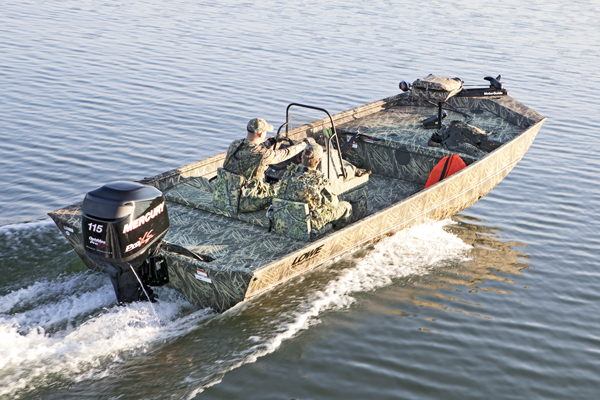 It wasn't long ago that waterfowlers had only one choice to make when selecting a duck boat: jon or