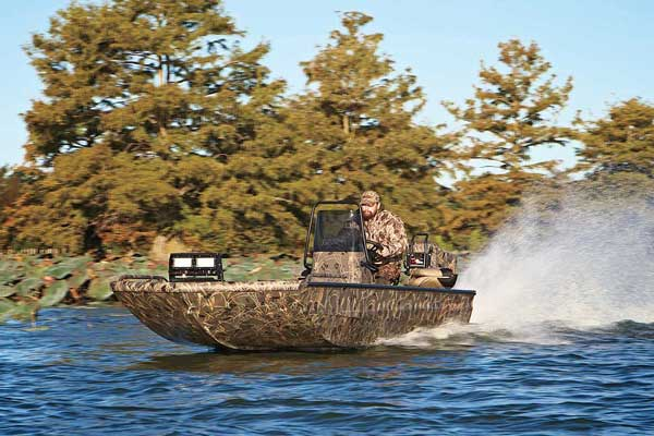 Hot New Waterfowl Boats & Motors for 2014