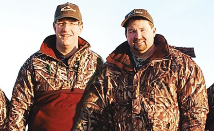 Like all the best people in the waterfowl industry, Drake founder Tate Wood is the last one to want