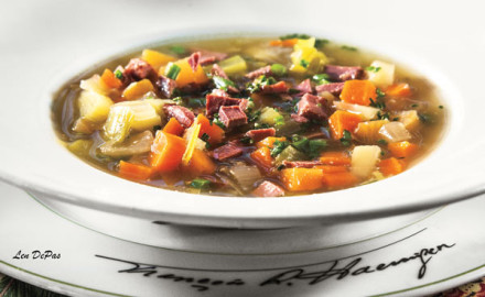 This duck recipe makes a delicious hearty soup that's sure to fill up the whole family.