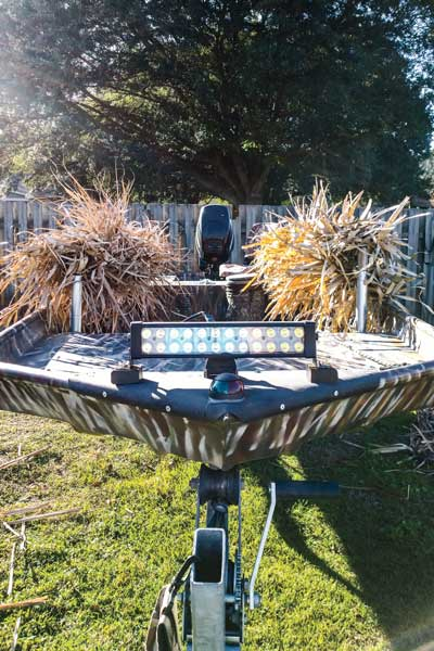 How To Create A Killer Boat Blind On A Budget Wildfowl