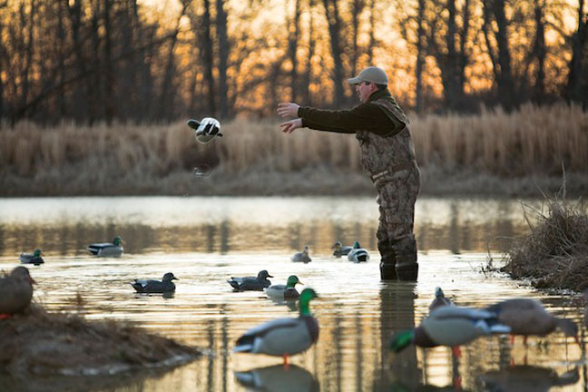 How to Set-up Small Decoy Spreads