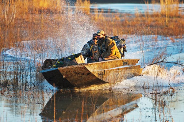 Best New Waterfowl Boats & Motors for 2015