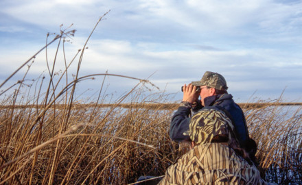 Whether on large inland lakes and reservoirs or coastal bays and flats, hunting ducks on big