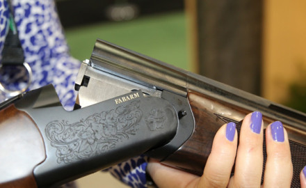 The first thing you will notice about the 12-gauge Syren Elos Sporting is the clean lines and