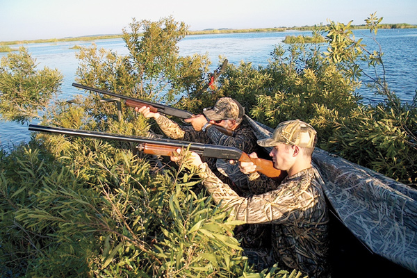First gun options for waterfowl hunting