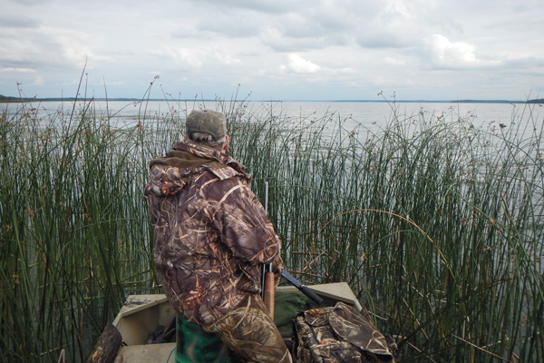 Duck Hunting Big water tips
