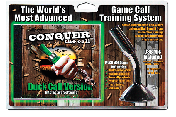 Conquer the call, Waterfowl Gear