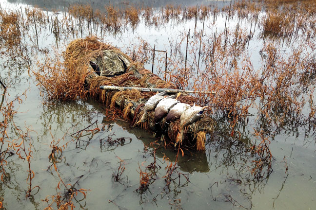 Diy kayak duck blind wildfowl duck blind dyi duck blind solutioingenieria Image collections