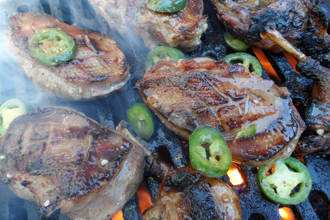 Recipe for Jalapeno Grilled Duck from Camp Chef